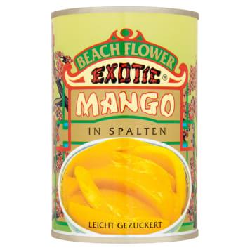 Krojone mango w syropie – Beach flower to słodka przekąska i dodatek deserów, drinków i sałatek.