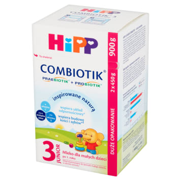 HIPP Junior Combiotik 3 Milk for small children after 1 year 2x450g 900 g