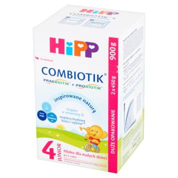 HIPP Junior Combiotik 4 Mleko dla małych dzieci po 2 roku 2x450g 900g