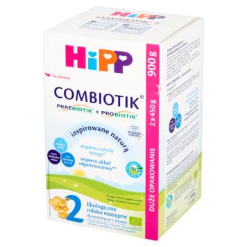 HIPP Combiotik 2 Milk next for babies after 6 months 2x450g BIO 900g