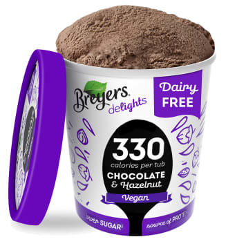 BREYERS Delights Vegan ice cream with a nutty chocolate flavor 500 ml