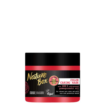NATURE BOX Hair mask with pomegranate oil 385 ml
