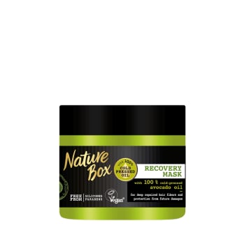 NATURE BOX Hair mask with avocado oil 385 ml