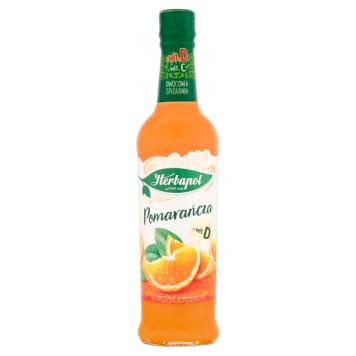 Herbapol Owocowa Spiżarnia - Syrop z pomarańcza. Orzeźwiający syrop z dodatkiem witaminy C.