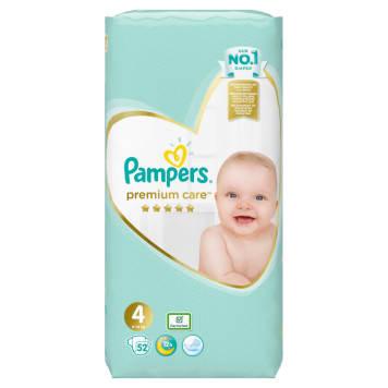 Pieluchy rozmiar 4 - Pampers Premium Care. Najlepsza ochrona skóry każdego dziecka.