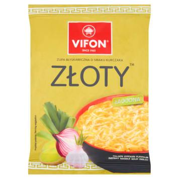 Zupa łagodna, kurczak złoty 70g - Vifon