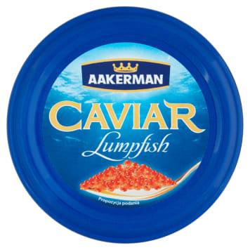 Kawior Czerwony-Aakerman Lumpfish. Sporządzany jest zgodnie z oryginalną francuską recepturą.