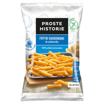 PROSTE HISTORIE French fries to the oven 750g