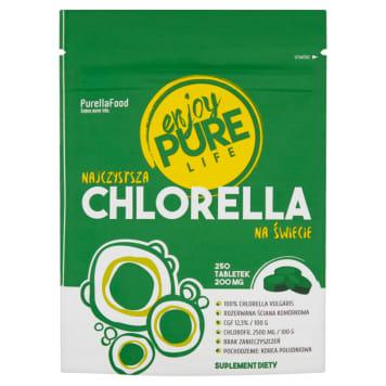 ENJOY PURE LIFE Chlorella w tabletkach 250 tabletek 50g