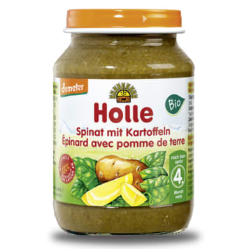 HOLLE Spinach and potatoes dinner - after 4 months BIO 190g