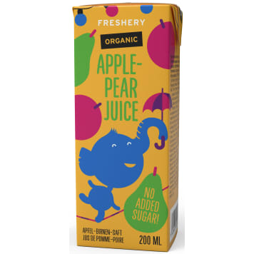 FRESHERY Apple-pear juice after 6 months BIO 200ml