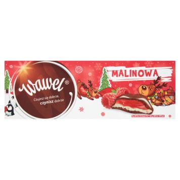 WAWEL Milk chocolate stuffed with raspberry 300g