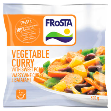 FROSTA Vegetable curry with sweet potatoes 500g