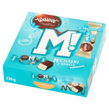 WAWEL Candies in chocolate Michałki Kokosowe Milkizz bar 330g