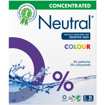 NEUTRAL Hypoallergenic powder for washing colors 1.3kg