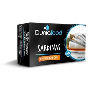 DUNIAFOOD Sardines in a red marinade 125 g