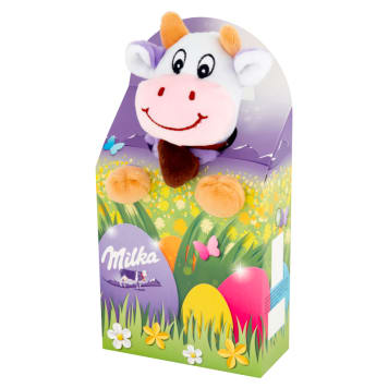 MILKA A mixture of chocolate and dragee with a mascot 96g