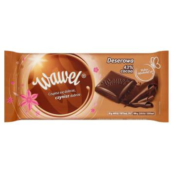 WAWEL Dessert chocolate 43% Cocoa 100g