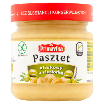 PRIMAVIKA Olive pate with chickpeas 160 g