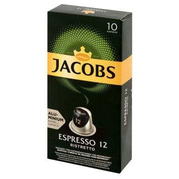 JACOBS Espresso Ristretto Ground coffee in capsules 10 capsules 52g