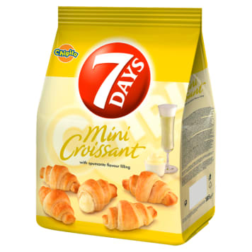 7 DAYS Mini Croissant with spumante filling 185 g