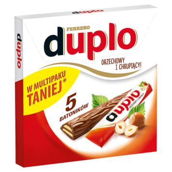 Baton z nadzieniem orzechowym w czekoladzie - Duplo