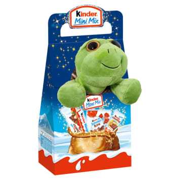 KINDER MAXI MIX A set of Christmas chocolates with a toy 133 g