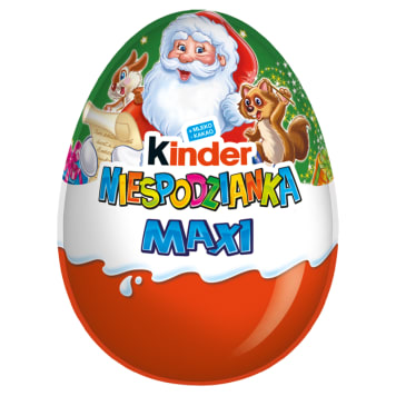 KINDER NIESPODZIANKA MAXI Egg with a surprise covered with milk chocolate 100 g