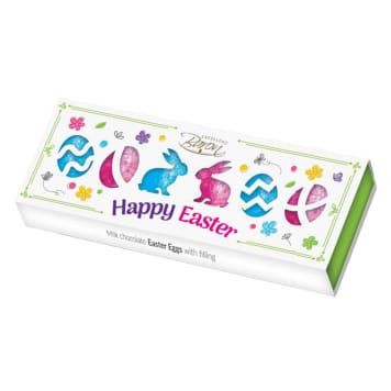 BARON Happy Easter Chocolate eggs with cocoa-nut filling 126g