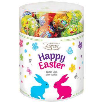BARON Happy Easter Stuffed large chocolate eggs 450g