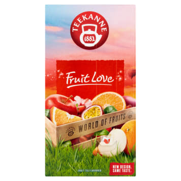TEEKANNE World of Fruits Fruit tea Fruit Love 20 bags 50g