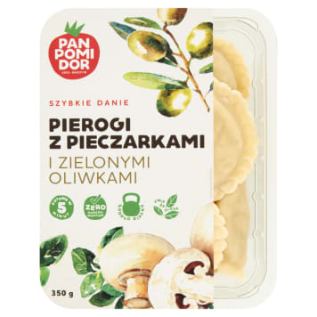PAN POMIDOR Dumplings with mushrooms and green olives 350 g