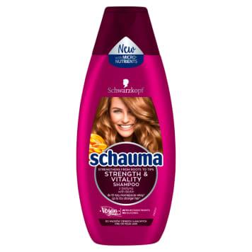 SCHAUMA Strength & Vitality Shampoo for thin and brittle hair 400ml