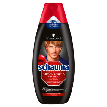 SCHAUMA Carbon Force 5 Multi-purpose shampoo 400 ml