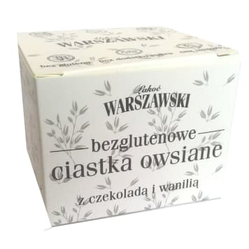 ŁAKOĆ WARSZAWSKI Oatmeal cake with chocolate and vanilla 150 g