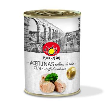 PLAZA DEL SOL Oliwki nadziewane tuńczykiem 280g