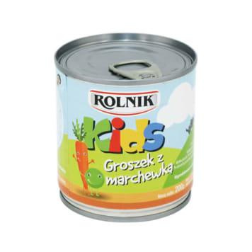 ROLNIK Kids Groszek z marchewką konserwowy 200g