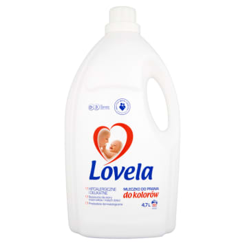 LOVELA Milk for washing baby and children s clothes - for color 4.7l