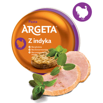 ARGETA Turkey meat paste 95g