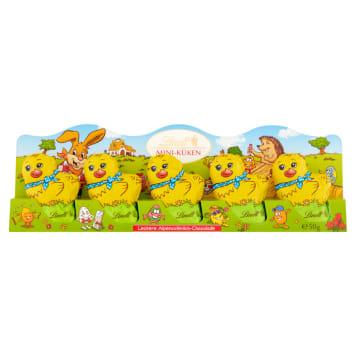 LINDT Mini Chickens Chocolate figurines 5 pcs 50g