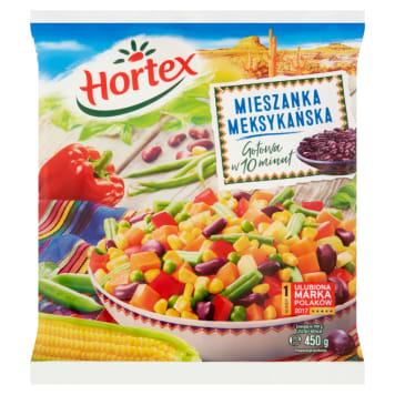 HORTEX - mieszanka meksykańska mrożona, 450 g. Wyjątkowa kompozycja warzyw na każdą porę roku.