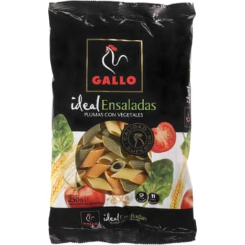 GALLO Pasta tubes with vegetables 250 g