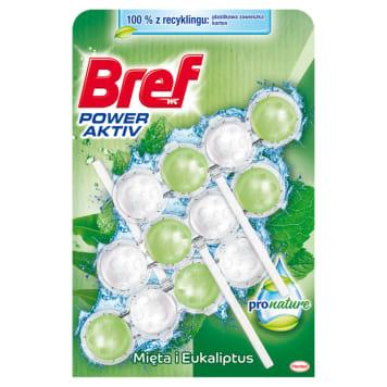 BREF Power Aktiv Toilet pendant - Mint and Eucalyptus 3x50g 1pc