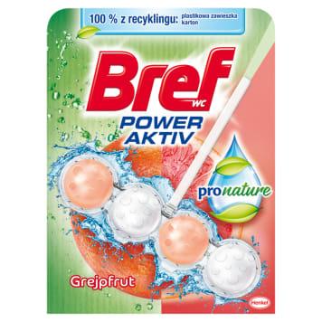 BREF Power Aktiv ProNature Zawieszka do WC - Grejpfrut 50g