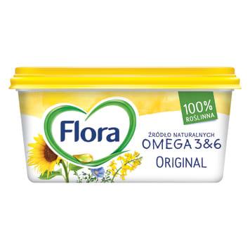 Margaryna - Flora Original. Zalecana wszystkim dbającym o zdrową dietę.