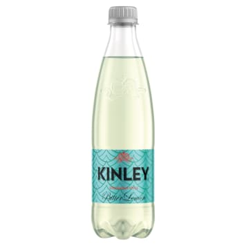 KINLEY Carbonated drink with a lemon flavor 500ml
