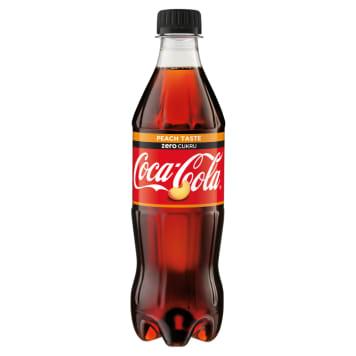 COCA-COLA ZERO Fizzy drink Peach 500ml