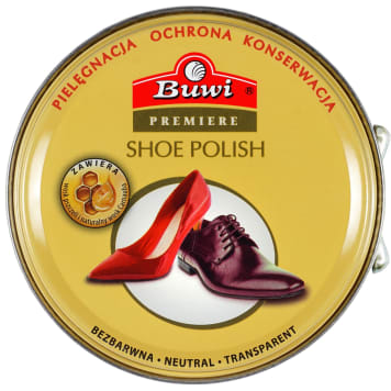BUWI PREMIERE Colorless shoe polish 40 ml