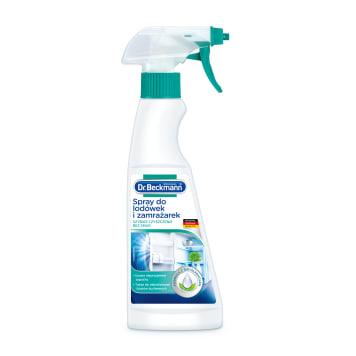Spray do czyszczenia lodówek - Dr Beckmann. Błyskawicznie czyści wszystkie sprzęty kuchenne.