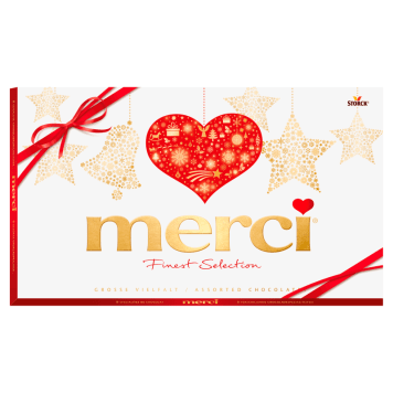 MERCI Finest Selection Chocolate Box - 8 Flavors - Separate Wraped 400g